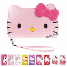 LG G4 Case HELLO KITTY Cute Diary Wallet Flip Pocket Leather Anti-shock Cover