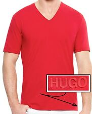 NWT Hugo Boss HUGO Red Label V-Neck Lightweight Luxury T-shirt Tee Size XL