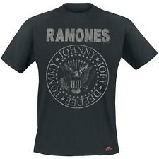 RAMONES - HEY HO LET'S GO (VINTAGE) - OFFICIAL MENS T SHIRT