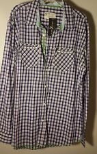 MARC ECKO CUT & SEW BUTTON DOWN SHIRT MENS 100% Cotton New Free Shipping ECKO