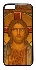 Jesus Christ Cross iPhone6 6+ 5S 5C 5 4S 4 Snap on Case TPU Rubber or Hard Cover