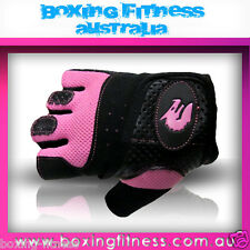 MORGAN LADIES TRAINING AND CROSSFIT GLOVES Weight Lifting Gloves Kettlebell NEW