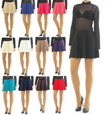 Swing Rock Mini High waist fold - rock Elastic band Skirt swinging Mini Skirt