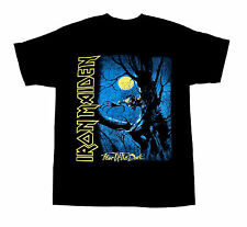 """NEW IRON MAIDEN """" FEAR OF THE DARK"""" T SHIRT S,M,L,XL  ROCK BAND"""