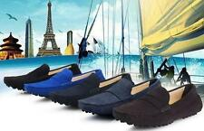 Stylish Mens suede leather casual slip on Loafer Moccasin Driving comfort Shoes