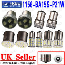 1156 White Yellow BA15S P21W 6 9 22 27 50SMD LED Car Turn Tail Signal Light Bulb