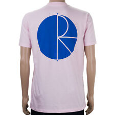 SP Polar Fill Logo T-Shirt Pastel Pink Blue skate