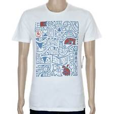 SP Volcom Don Pendleton FA Pattern T-Shirt Paint White skate
