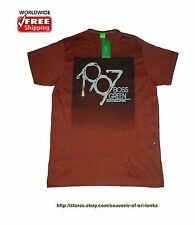 NWT Hugo Boss men's crew neck T-shirt, 100% Cotton Size S M L XL XXL Brown 2