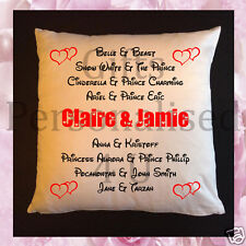 Personalised Cushion & Mugs - Couples Happily Ever After - Disney - Style 11