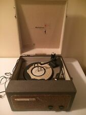 Vintage Westinghouse H75AC1 Portable Record Player Adjustable Speed
