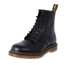 Genuine Dr. Martens Docs Uni-Sex Leather 8 Eye Boot 8 Ups Black Smooth Cheap