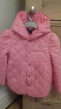 Ralph Lauren pink girls lightweight hooded quilted jacket pink size 5 BNWOT