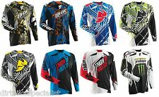 MX Motocross Jersey Thor Core Black,Blue,Green,Yellow,Red,Pro Circuit S-2XL