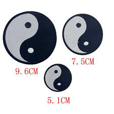 Chinese Feng Shui Ying Yin Yang Tai Chi Iron On Embroidered Applique DIY Patch