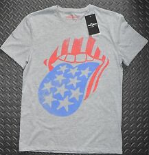 ROLLING STONES T SHIRT OFFICIAL MENS STARS AND STRIPES UK Sizes M - XXL