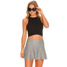 Ava And Ever Domino Crop Top in Black
