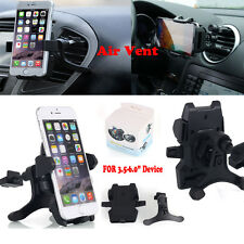 Auto Lock Universal 360°Car Air Vent Mount Holder Cradle Stand Fr Cell Phone GPS