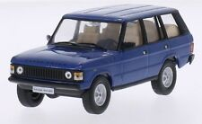 WHITEBOX - WB177 RANGE ROVER 4-DOOR BLUE 1:43 SCALE.