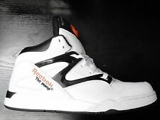 REEBOK PUMP OMNI LITE HI TOP TRAINER SHOE SIZE 5.5 WHITE BLACK NEW