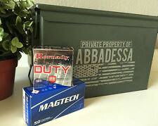 Ammo Can with American Flag Design