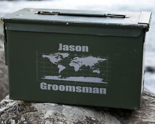 Personalized Wedding Ammo Can