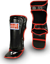 TITLE Classic MMA Shin/Instep Guards (Brand New) No Tax, FREE SHIPPING
