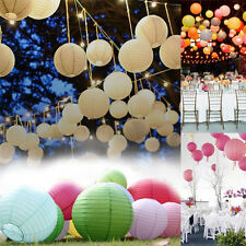 "10PCS 8"" 10"" 12"" Multicolor Chinese Paper Lantern Wedding Birthday Party Decor"