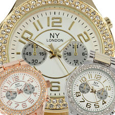 Party Bling Girls Womens Ladies Crystal Bezel NY London New Cool Fashion Watch