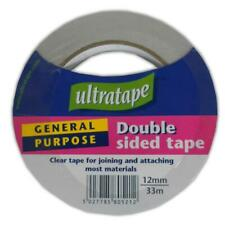 Clear Double Sided Tape - Joining Strong Adhesive Materials Home Garage Size New