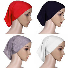 Gorgeous Islamic Muslim Women's Head Scarf Cotton Underscarf Hijab Cover Bonnet