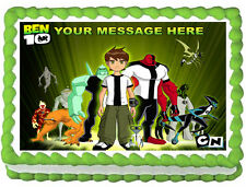 BEN 10 Party Image Edible Cake topper decoration