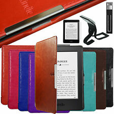 Auto Sleep CASE COVER FOR KINDLE 4 5 6 Paperwhite Voyage / WITH TOUCH (7th 2014)