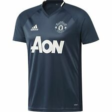 adidas Manchester United FC 2016 - 2017 Training Soccer Jersey Brand New Navy