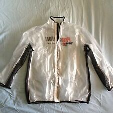 Motocross/ Enduro MUD JACKET clear WATERPROOF RAIN COAT Medium bmx mtb