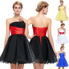 Short Mini Cocktail Party Ball Gown Wedding Dress Bridesmaid Prom Evening Dress