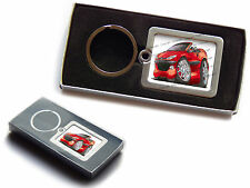 PEUGEOT 206 CC Official Koolart Premium Metal Keyring With Gift Box