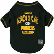 Green Bay Packers Dog Shirt Officially Licensed NFL Products