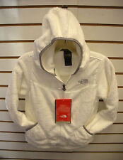 THE NORTH FACE GIRLS OSO HOODIE FLEECE JACKET-#APZE- SMALL-WHITE  -NEW