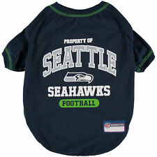 Seattle Seahawks Dog Shirt Officially Licensed NFL Products