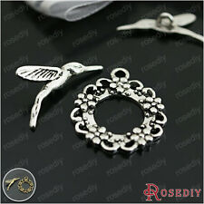 10Sets Zinc Alloy Bracelet Toggle Clasps Jewelry Findings Accessories 26975