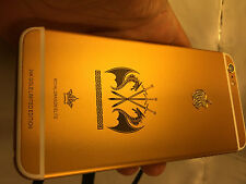 UNLOCKED IPHONE 6S 4.7  64GB  24K 24CT REAL GOLD & DIAMOND ELITE SPECIAL EDITION