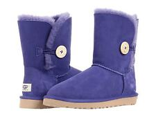 UGG AUSTRALIA WOMEN BOOTS CLASSIC SHORT BAILEY BUTTON ROYAL BLUE SZ 7 8 9 10 NEW