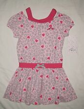 NWT LILYBIRD GIRLS SUMMER DRESS LEOPARD PRINT SIZE 3T PINK FREE US SHIPPING
