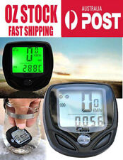 LCD Backlit Digital Wireless Bicycle Computer speedometer odometer cycle bike