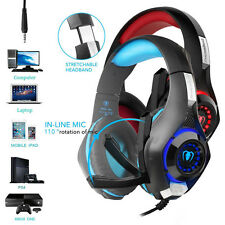 Headset For Laptop Mobile Phone Xbox One PS4 Earphone Headband With Microphone