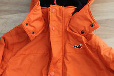Hollister Men's All Weather Jacket Orange Size M or XL new with label