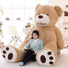 Huge Giant JUMBO Bear Giant Stuffed Plush Teddy Bear Great Gift 51-133 inches