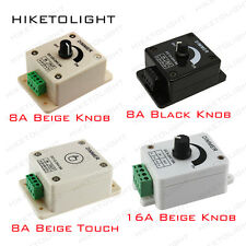 8A DC12-24V Dimming Controller Switch Dimmer for 3528 5050 LED Lights Ribbon