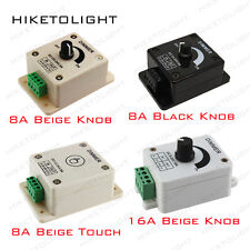 8A/16A DC12-24V Dimming Controller Switch Dimmer for 3528 5050 LED Lights Ribbon